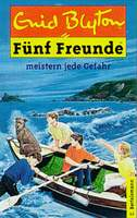 deutsches Buchcover 'The Famous Five have a puzzling time and other stories'