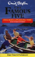 englisches Buchcover 'The Famous Five have a puzzling time and other stories'