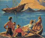 englisches Buchcover: Five on a treasure island (A)