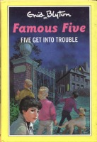 "englisches Buchcover: ""Five get into trouble"" (H)"