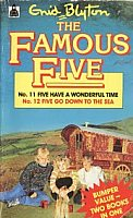 "englisches Buchcover: ""Five have a wonderful time"" (K)"