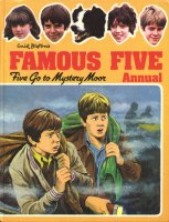 "englisches Buchcover: ""Five go to Mystery Moor"" (M)"