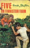 "englisches Buchcover: ""Five on Finniston Farm"" (R)"
