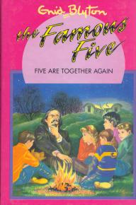 "englisches Buchcover: ""Five are together again"" (U)"