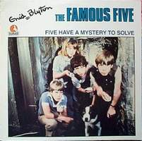 englisches LP-Cover Five have a mystery to solve