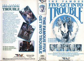 "englisches Videocover: ""Five get into trouble"" (H)"