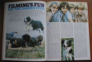 Scan 'Filming's Fun say the Famous Five'