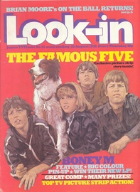 Look-in Cover Ausgabe 1978 nr 35