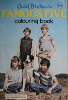 Famous Five colouring book