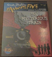englisches Puzzle: The Mysterious Train